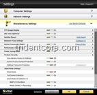 Norton Settings tab 3