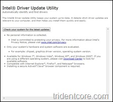 Intel Driver Update 1
