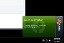 Avast online update