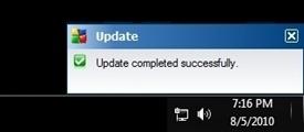AVG online update