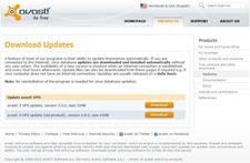 Avast offline update