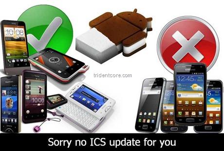 No ICS for Samsung