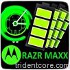 RAZR MAXX logo S